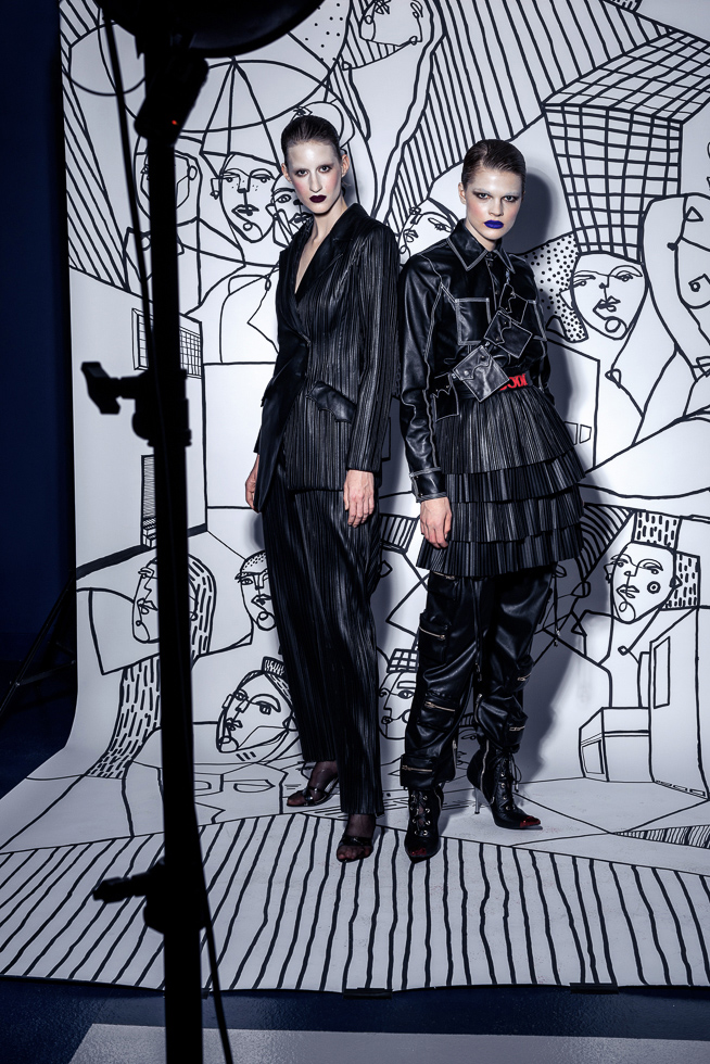 Divat fotózás - Glamour Backstage Editorial