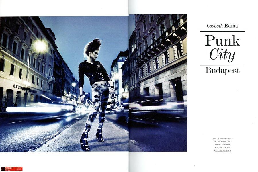 Publikáció - Fashion Issue - 2011 - Punk City - Interjú - Nyitó
