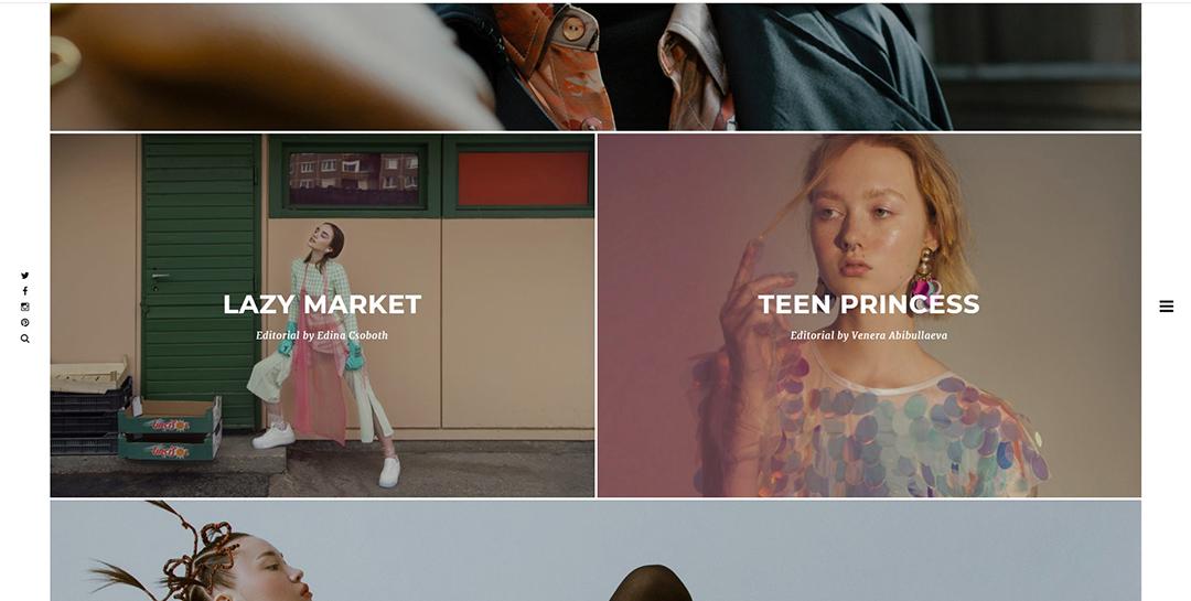 Publikáció - Haute Punch Magazine - 2020 - Lazy Market - Nyitó (weboldal)