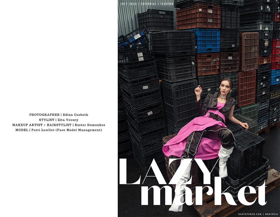 Publikáció - Haute Punch Magazine - 2020 - Lazy Market - Tear sheets 1