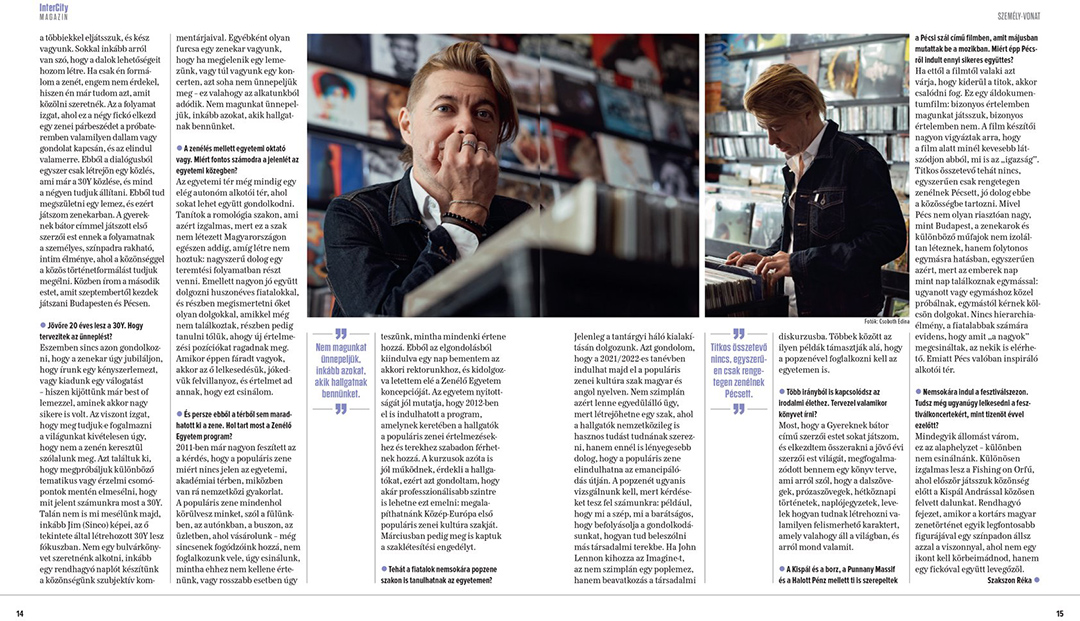 Publikáció - InterCity Magazin - 2019 - Beck Zoli - 02